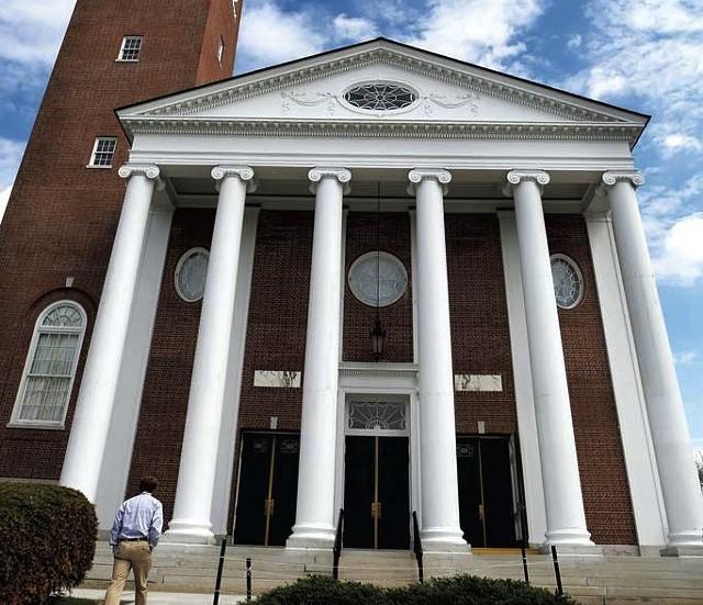 Ira Allen Chapel, UVM campus - FILE PHOTO