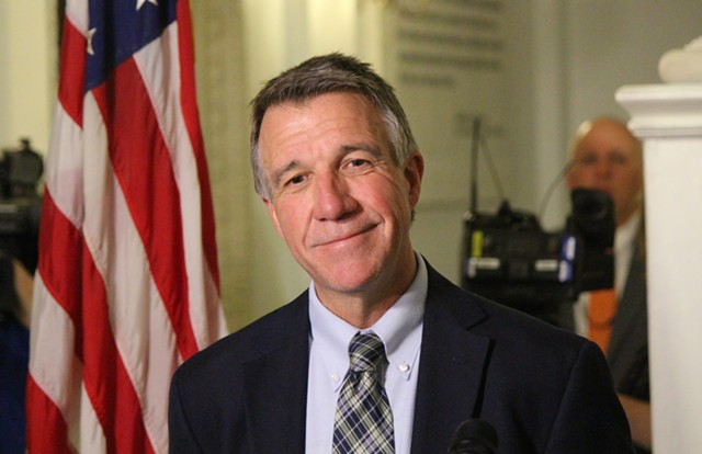 Governor-elect Phil Scott - PAUL HEINTZ