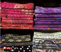 Indian Print Bedspread