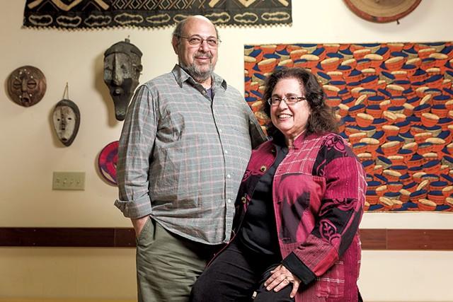Ben Bergstein and April Werner - OLIVER PARINI