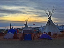 Oceti Sakowin Camp - COURTESY OF AVI SALLOWAY