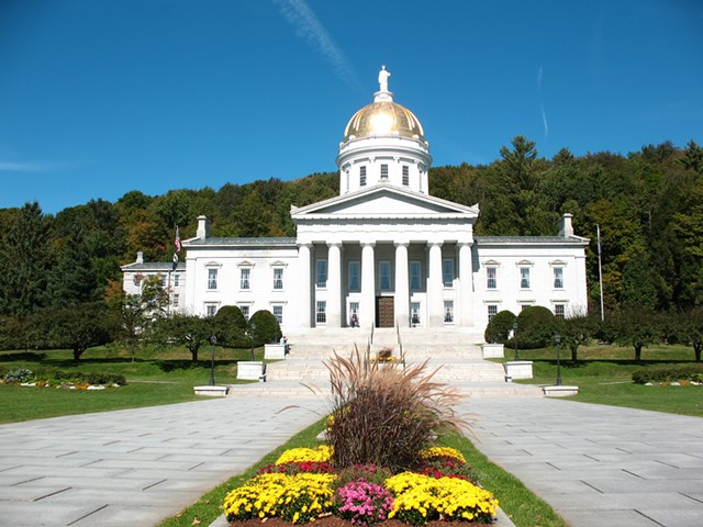 Vermont Statehouse - FILE