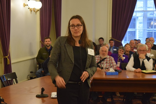 Rep. Jill Krowinski (D-Burlington), the new House majority leader - TERRI HALLENBECK