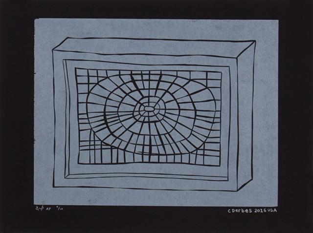 """Radial"" by Clark Derbes - COURTESY OF PUBLIC WORKS PRESS"