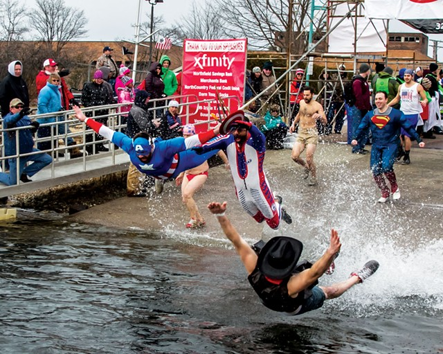 The Penguin Plunge - COURTESY OF SPECIAL OLYMPICS VERMONT
