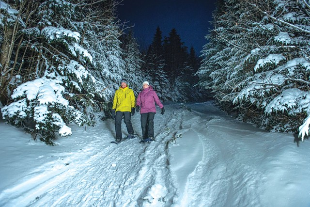 Snowshoeing at Smugglers' Notch Resort - PHOTOS COURTESY OF SMUGGLERS' NOTCH RESORT