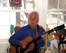 Mike playing circa 2002 - COURTESY OF KELLY QUENNEVILLE