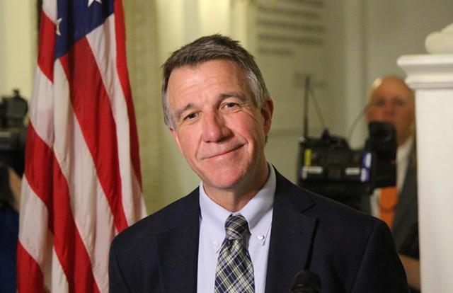 Governor-elect Phil Scott - FILE: PAUL HEINTZ