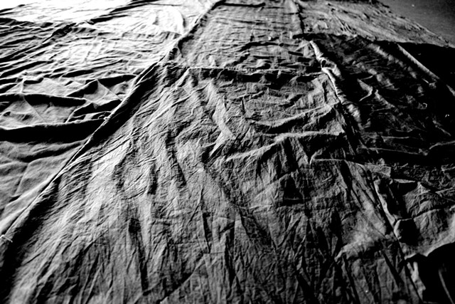 """Mourning Cloth"" by Sabrina Leonard - COURTESY OF IAN WALKER"
