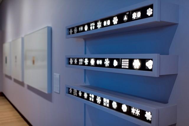"Wilson ""Snowflake"" Bentley's glass-plate lantern slides - PHOTOS COURTESY OF SHELBURNE MUSEUM"