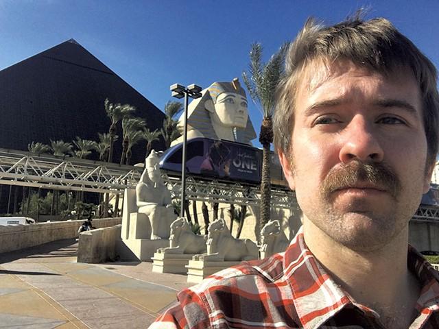 Paul Heintz at the Luxor Las Vegas - FILE: PAUL HEINTZ