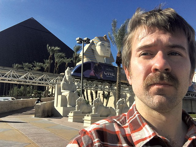 Paul Heintz at the Luxor Las Vegas - FILE: PAUL HEINTZ