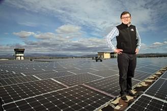 Burlington Electric Department general manager Neale Lunderville - FILE: MATTHEW THORSEN
