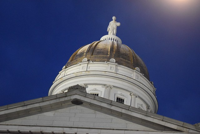 Vermont Statehouse - TERRI HALLENBECK