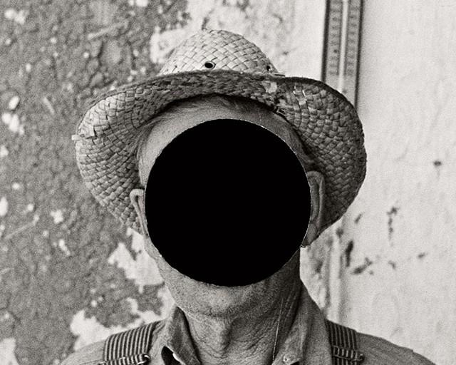 """Mr. Tronson, farmer near Wheelock, North Dakota, 1937,"" detail - COURTESY OF BILL MCDOWELL"