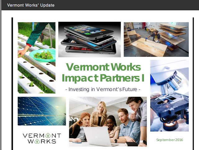 Vermont Works - COURTESY OF VERMONT WORKS