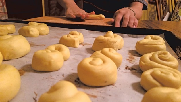 Rolls ready for the oven - ASTRID HEDBOR LAGUE