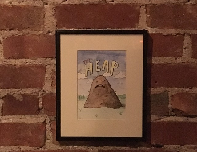 "Illustration of ""The Heap"" by James Bellizia - SADIE WILLIAMS"