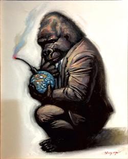 """Time Bomb"" by Philip Hagopian - COURTESY OF BOBBY GOSH"