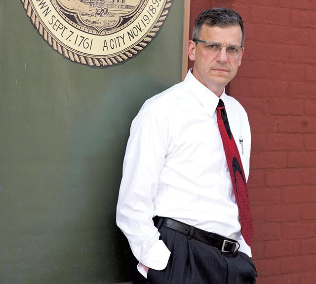 Rutland Mayor Chris Louras - CALEB KENNA