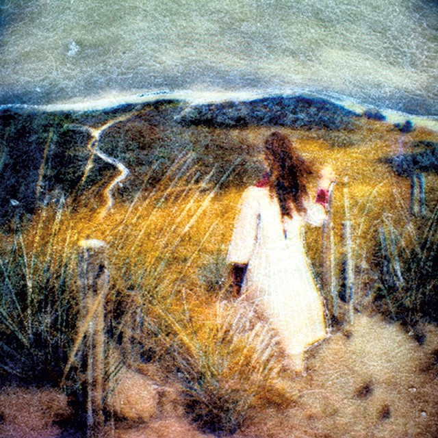 """Girl on Dunes"" - COURTESY OF GOVENOR'S GALLERY"