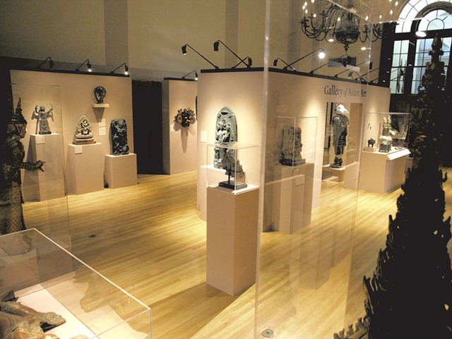 Gallery of Asian Art, Fleming Museum - MATTHEW THORSEN