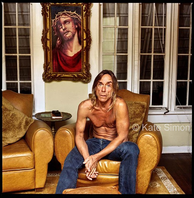 Iggy Pop, 2007 - PHOTO BY KATE SIMON