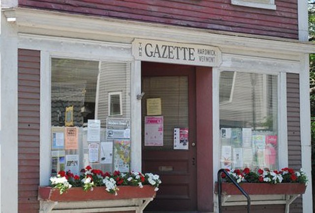 The Hardwick Gazette office - FILE: COURTESY OF HARDWICK GAZETTE