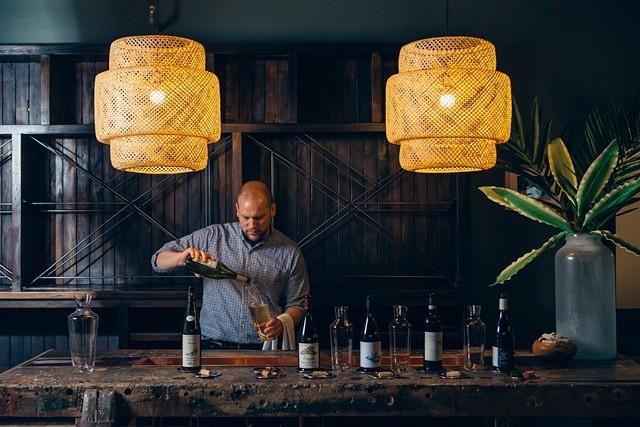 Scott Doherty at Dedalus Wine - DEDALUS / JESSICA SIPE