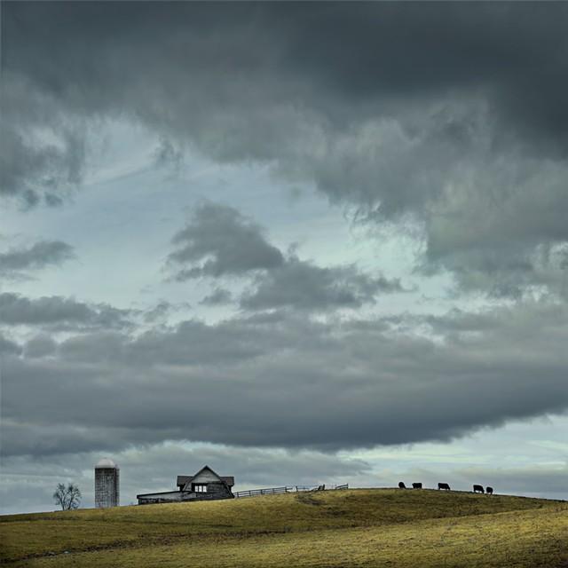 """Jim Westphalen, """"Mountain View, Stock Farm"""""""