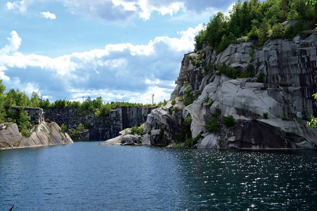 Millstone Hill quarry - COURTESY OF MILLSTONE TRAILS ASSOCIATION: SAMANTHA RYAN