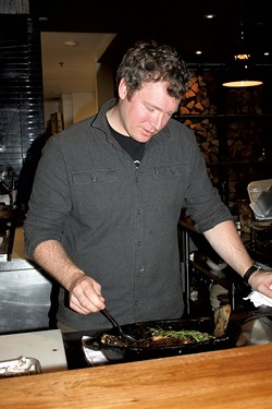 Chef Jordan Ware - SUZANNE PODHAIZER