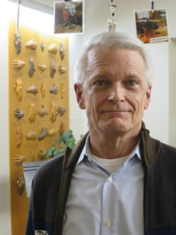Paul Sisson, co-chair of the Pride Center of Vermont board - MATTHEW THORSEN