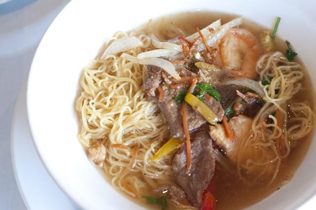Chef's noodle bowl, Silver Palace - HANNAH PALMER EGAN