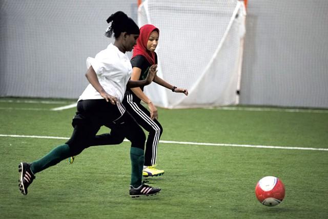 Nasteha Abdullahi and Sami Lar - JAMES BUCK