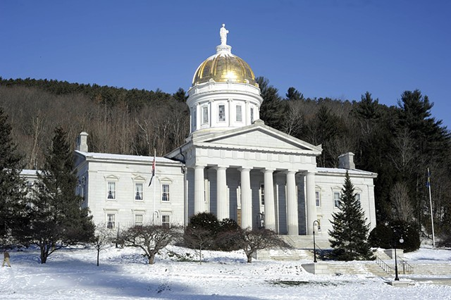 The Vermont State House - FILE: JEB WALLACE-BRODEUR