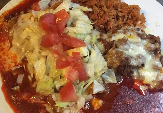 Enchiladas at El Toro in Morrisville - COURTESY OF EL TORO