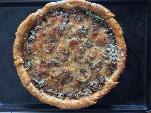 Scalloped potato pie - HANNAH PALMER EGAN