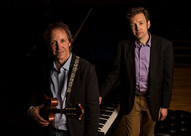 Jamie Masefield (left) and Tom Cleary - COURTESY OF RYAN MERCER