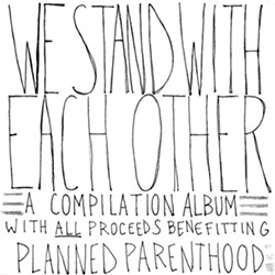 We Stand With Each Other album cover - COURTESY