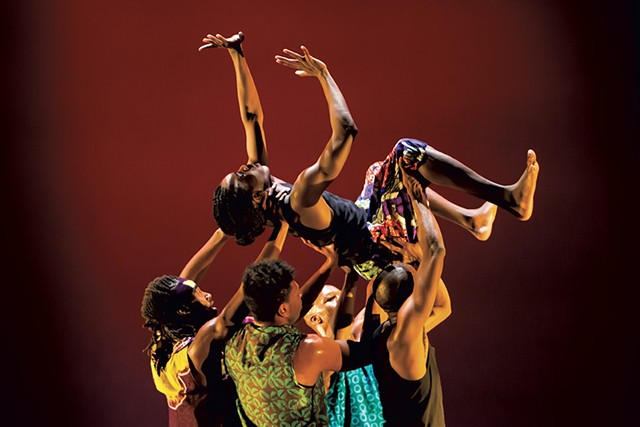 INSPIRIT dancers performing The Opulence of Integrity - COURTESY OF MELISSA BLACKALL
