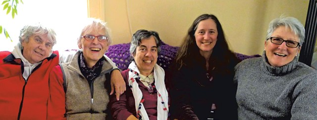 Current HOWL collective members, from left to right: Glo Daley, - Stephie Smith, Lani Ravin, Michele Grimm and Cynthia Feltch - COURTESY OF HOWL