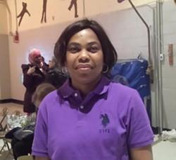 Parent University graduate Gertrude Moundouti - KYMELYA SARI
