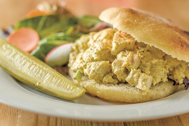 Chicken salad sandwich - OLIVER PARINI
