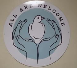 """All Are Welcome"" symbol - KYMELYA SARI"