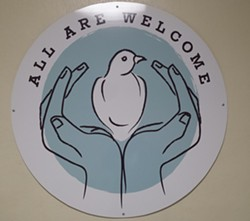 """All Are Welcome"" symbol - KYMELYA SARI"