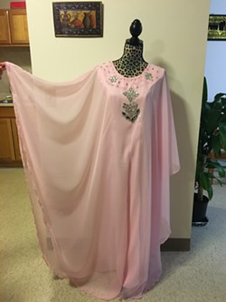 A traditional Iraqi dress by Sahar Alsammraee. - SADIE WILLIAMS
