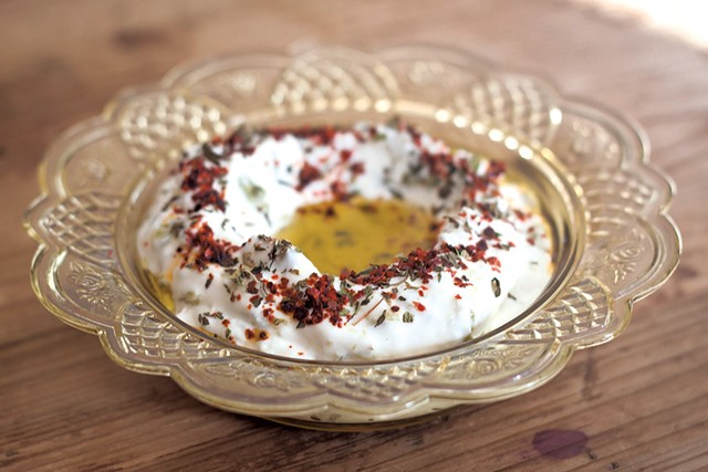 Labneh at Honey Road - COURTESY OF MACKENZIE DOYLE