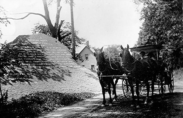 Bristol Rock circa 1915 - PHOTOS COURTESY OF BRISTOL HISTORICAL SOCIETY