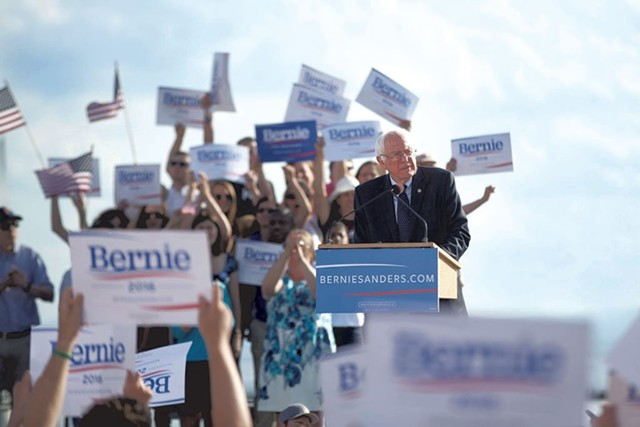 Sen. Bernie Sanders - FILE: JAMES BUCK